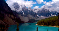 Moraine Lake in Sun