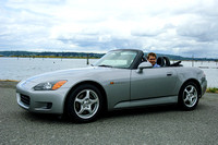 Eric and his new Honda S2000